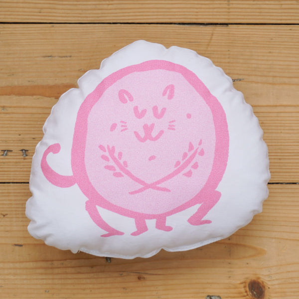 Plush Biscuit Kitty - Crumble in Candyfloss Pink