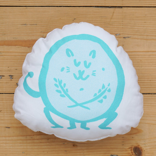 Plush Biscuit Kitty - Crumble in Mint Green