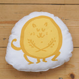 Plush Biscuit Kitty - Crumble in Custard Yellow