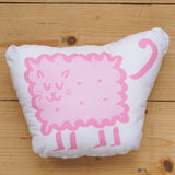 Plush Biscuit Kitty - Malty in Candyfloss Pink