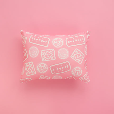 Biscuit Doodle Cushion - Pink