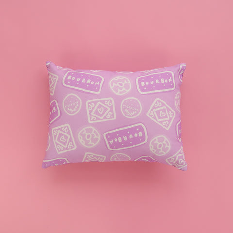 Biscuit Doodle Cushion - Lilac