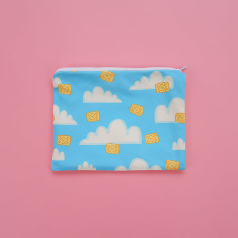 Custard Creams in the Clouds Pouch