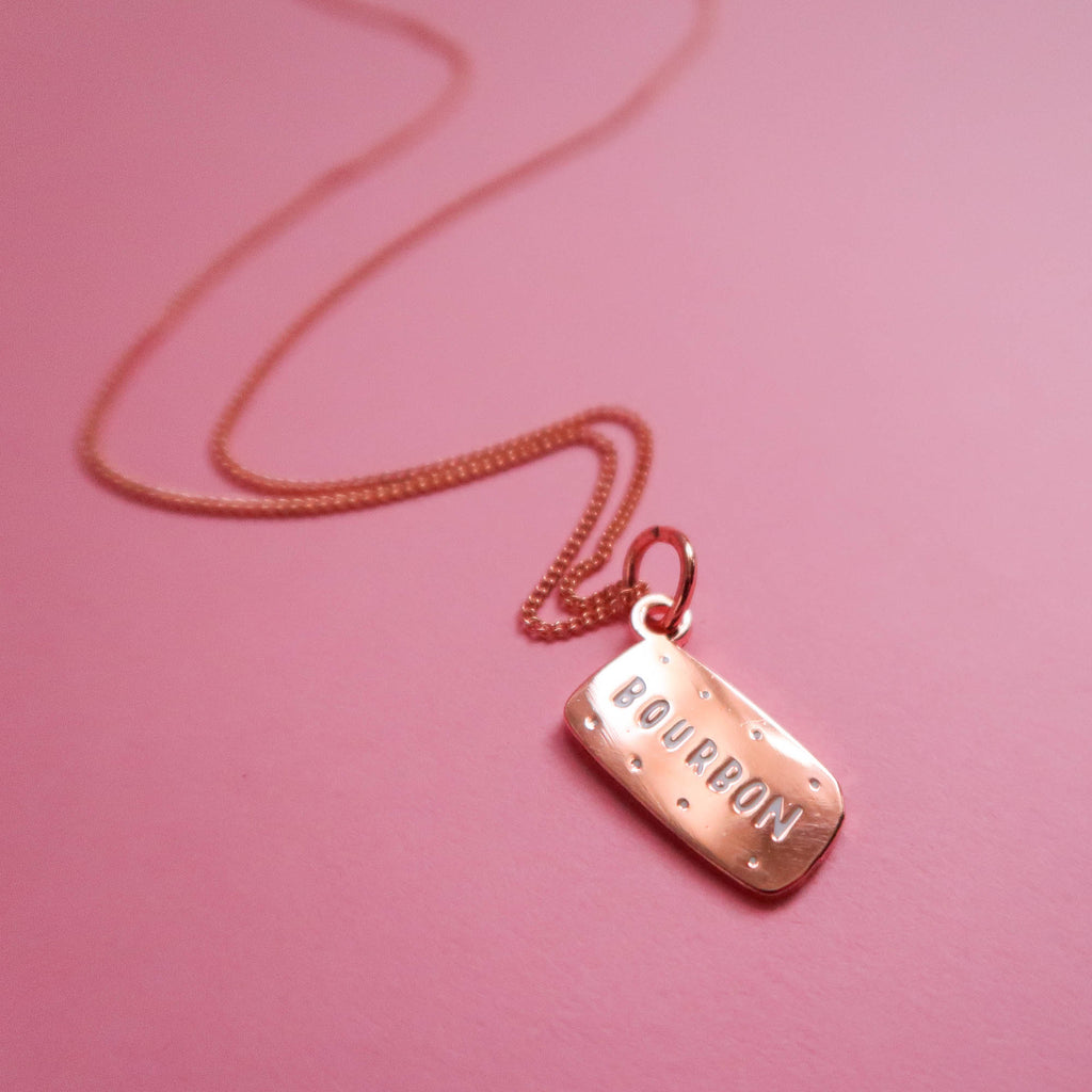 Rose Gold Bourbon Necklace