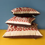 Supersize Malted Milk Cushion, by Nikki McWilliams