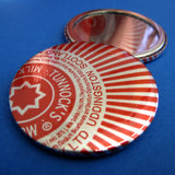 Tunnocks Teacake Foil Pocket Mirror