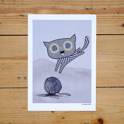 Teacake Kitten Digital Print