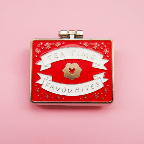 Teatime Favourites Surprise Inside - Enamel Pin