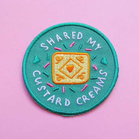 Biscuit Achievement Patch - Shared My Custard Creams
