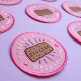 Biscuit Achievement Patch - Topped Up The Biscuit Tin