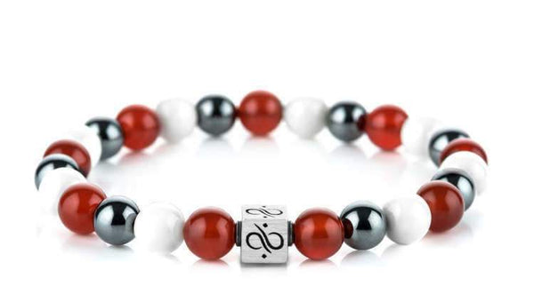 Classic Pure Passion Mixed, 8mm, Silver bracelet