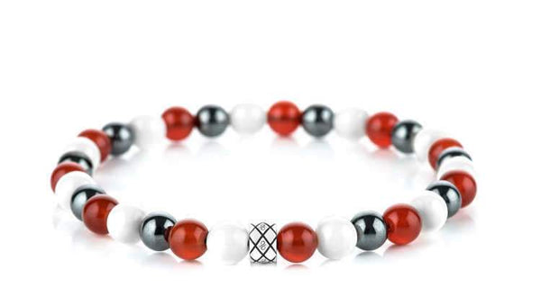 Abacus Pure Passion Mixed, 6mm, Silver bracelet