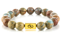 Classic Regalite Jasper (12mm) Gold