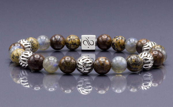 Wisdom Mixed (8mm) Silver