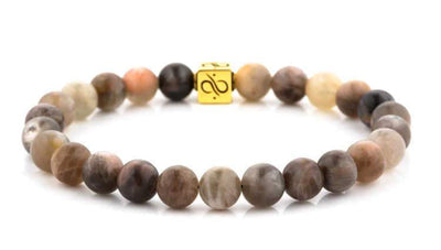 Minimal Gold Black Sunstone