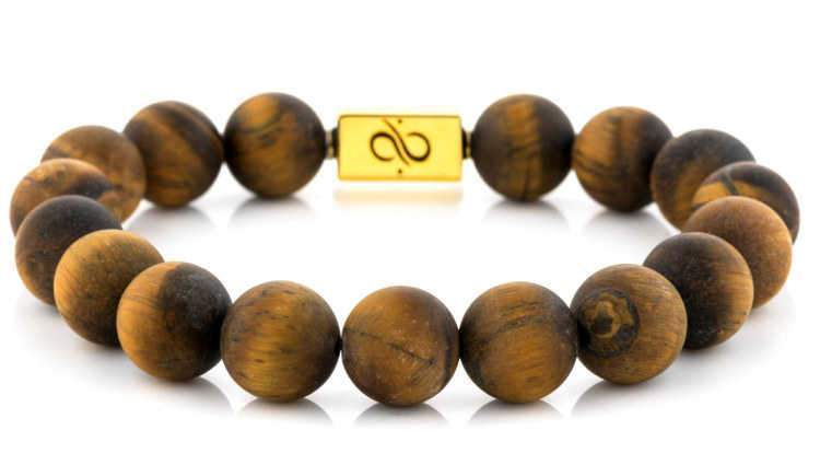 Classic Gold Matte Tiger Eye