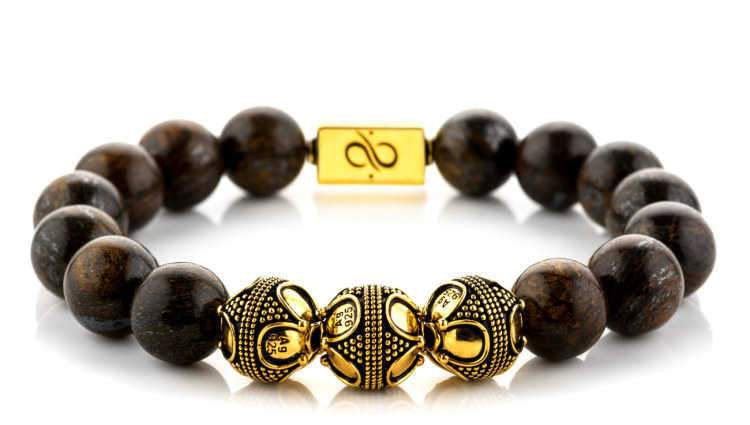 Premium Bronzite (12mm) Gold