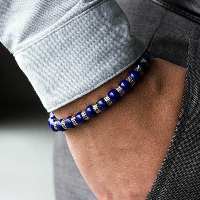 Special Lapis Lazuli (8mm) Silver