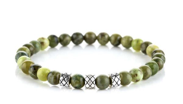 Prime Silver Abacus Peridot