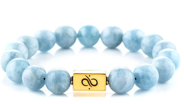 Classic Aquamarine (12mm) Gold