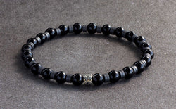 Silver Abacus Roman Onyx