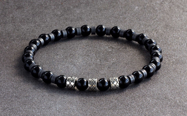 Prime Silver Abacus Roman Onyx