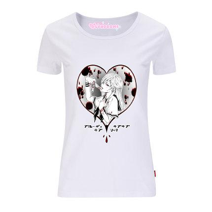 Japanese Bloody Lovey Dovey T-shirt SD02647 - SYNDROME - Cute Kawaii Harajuku Street Fashion Store