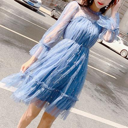 Organza Star Dress SD02451 - SYNDROME - Cute Kawaii Harajuku Street Fashion Store