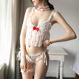 Strawberry Lace Lingerie SD02257