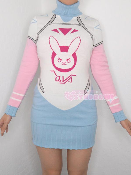 Overwatch Winter D.VA Sweater Dress SD02550