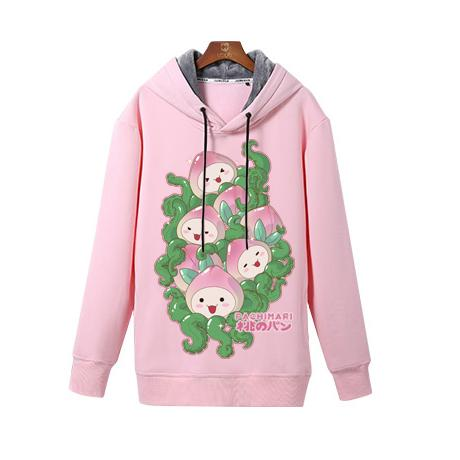 Overwatch Pachimari Peach Buns Hoodie SD02666 - SYNDROME - Cute Kawaii Harajuku Street Fashion Store
