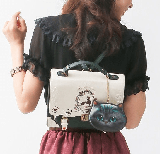 Japanese Harajuku Lolita Alice in Wonderland Backpack SD01779 - SYNDROME - Cute Kawaii Harajuku Street Fashion Store