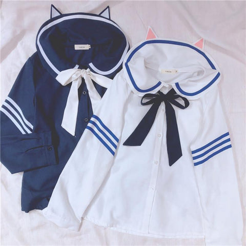 Neko Sailor Shirt SD00951
