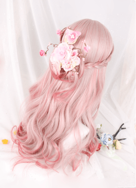 Japanese Harajuku Sakura Blossom Wig SD01929 - SYNDROME - Cute Kawaii Harajuku Street Fashion Store