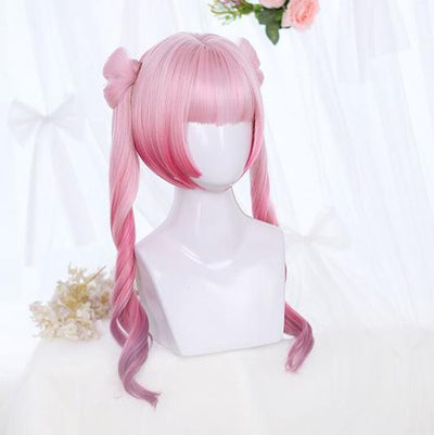 Sakura Twin Tail Wig SD00975 - SYNDROME - Cute Kawaii Harajuku Street Fashion Store