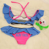 D.VA Summer Bikini 2 Piece Swimsuit MF02500 - SYNDROME - Cute Kawaii Harajuku Street Fashion Store