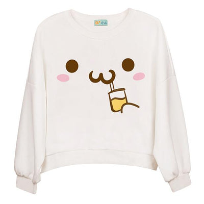 Kawaii Drinking Sweater SD00288 - SYNDROME - Cute Kawaii Harajuku Street Fashion Store