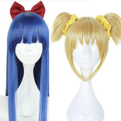 Pop Team Epic Pipi & Pop Wig SD00201 - SYNDROME - Cute Kawaii Harajuku Street Fashion Store