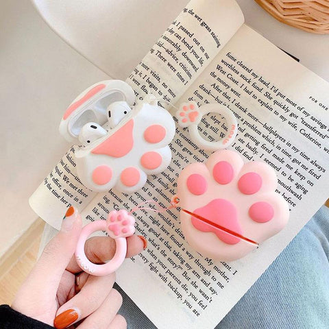 Neko Paw Airpods Case SD00147 - SYNDROME - Cute Kawaii Harajuku Street Fashion Store