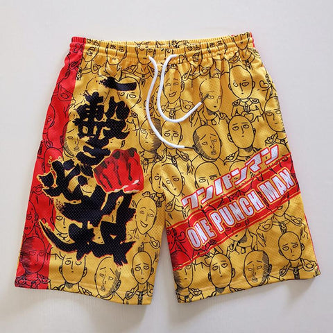 One Punch Man Saitaman Sport Shorts SD01507