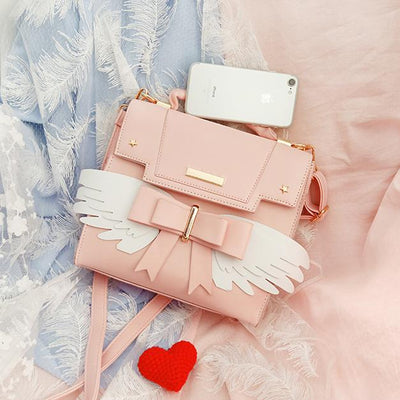 Cardcaptor Sakura Angel Wings Shoulder Bag SD00820 - SYNDROME - Cute Kawaii Harajuku Street Fashion Store