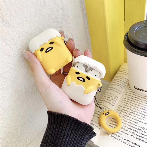 Gudetama Airpods Case SD01248 - SYNDROME - Cute Kawaii Harajuku Street Fashion Store