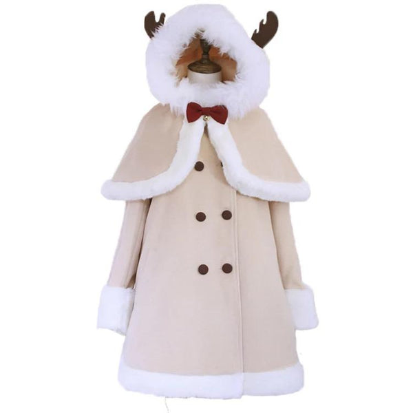 Deer Cloak Coat SD01274 - SYNDROME - Cute Kawaii Harajuku Street Fashion Store