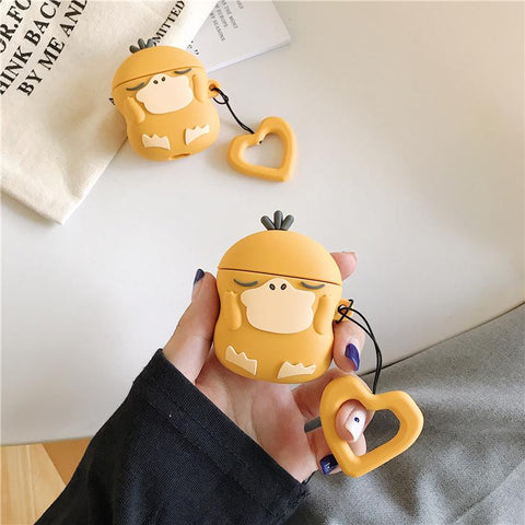 Psyduck Airpods Case SD01283 - SYNDROME - Cute Kawaii Harajuku Street Fashion Store
