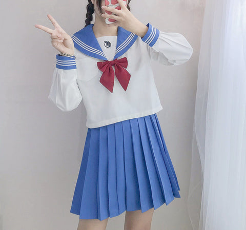 Sailor Bow Tie School Uniform SD00899 - SYNDROME - Cute Kawaii Harajuku Street Fashion Store