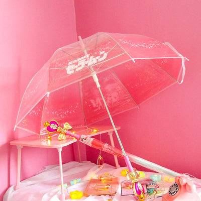 Sailor Moon Pastel Heart Handel Umbrella SD00034 - SYNDROME - Cute Kawaii Harajuku Street Fashion Store