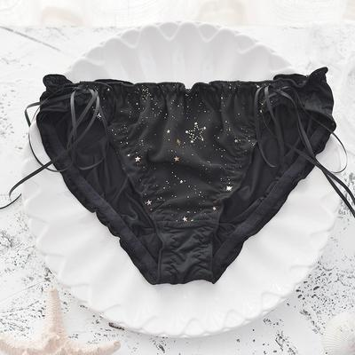 Glitter Stars Underwear SD00769 - SYNDROME - Cute Kawaii Harajuku Street Fashion Store