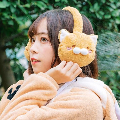 Animal Earmuffs SD00453 - SYNDROME - Cute Kawaii Harajuku Street Fashion Store