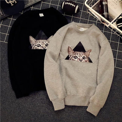 Peekaboo I See You Sweater SD00593 - SYNDROME - Cute Kawaii Harajuku Street Fashion Store
