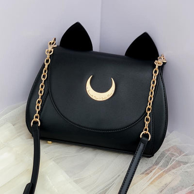 Sailor Moon Luna and Artemis Cat Moon Bag SD00377 - SYNDROME - Cute Kawaii Harajuku Street Fashion Store
